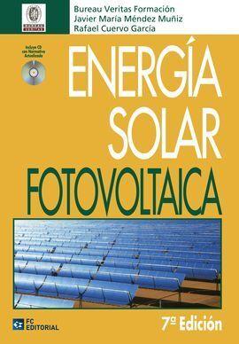 ENERGÍA SOLAR FOTOVOLTAICA 7ª EDICIÓN
