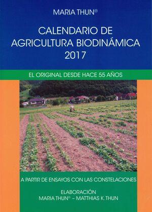 CALENDARIO DE AGRICULTURA BIODINÁMICA 2017