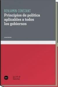 PRINCIPIOS DE POLÍTICA APLICABLES A TODOS LOS GOB