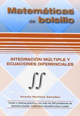 INTEGRACIÓN MÚLTIPLE Y ECUACIONES DIFERENCIALES
