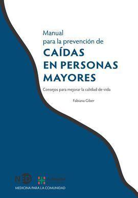 MANUAL PARA LA PREVENCIÓN DE CAÍDAS EN PERSONAS MAYORES
