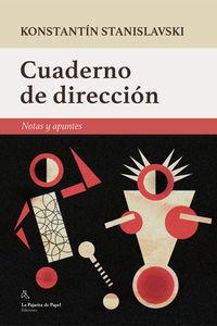 CUADERNO DE DIRECCIÓN