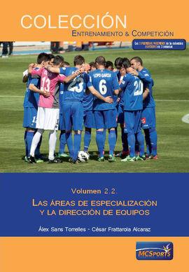 AREAS ESPECIALIZACION DIRECCION DE EQUIPOS VOL 2.2