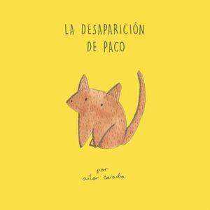 LA DESAPARICIÓN DE PACO