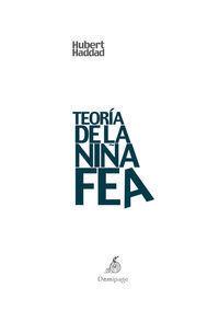 TEORÍA DE LA NIÑA FEA