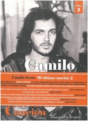 CAMILO SESTO. MI ULTIMA CANCIÓN VOL. 2