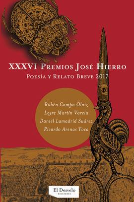 XXXVI PREMIOS HIERRO DE POESÍA Y RELATO BREVE