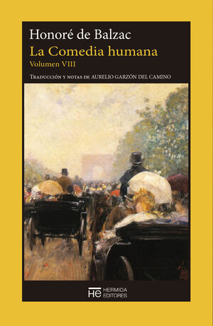 LA COMEDIA HUMANA. VOLUMEN VIII