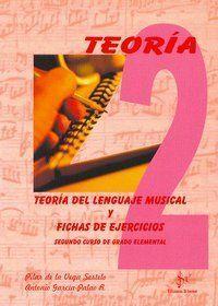 TEORÍA DEL LENGUAJE MUSICAL Y FICHAS DE EJERCICIOS, 2 GRADO ELEMENTAL
