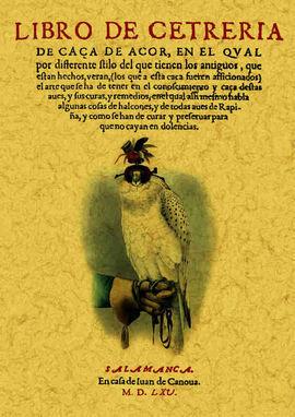 LIBRO DE CETRERÍA (FACSÍMIL)
