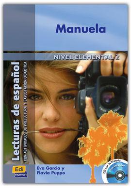 MANUELA - LIBRO + CD