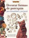 DECORAR FORMAS DE POREXPÁN