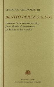 EPISODIOS NACIONALES. PRIMERA SERIE. TOMO III
