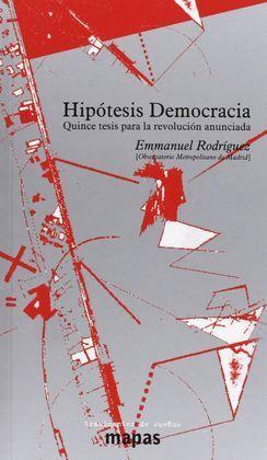 HIPÓTESIS DEMOCRACIA