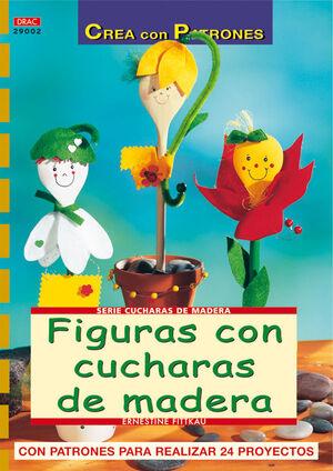 FIGURAS CON CUCHARAS DE MADERA