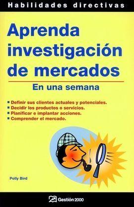 APRENDA INVESTIGACIÓN DE MERCADOS