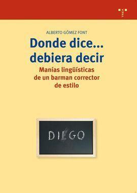 DONDE DICE... DEBIERA DECIR
