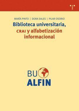 BIBLIOTECA UNIVERSITARIA CRAI Y ALFABETIZACION