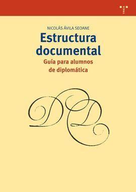 ESTRUCTURA DOCUMENTAL: GUÍA PARA ALUMNOS DE DIPLOMÁTICA