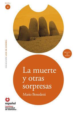 LA MUERTE Y OTRAS SORPRESAS + CD LEER EN ESPAÑOL NIVEL 4