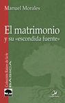 EL MATRIMONIO [Nº3]