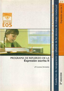 EXPRESIÓN ESCRITA II