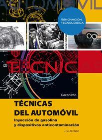 TÉCNICAS DEL AUTOMÓVIL. INYECCIÓN GASOLINA DISPOSITIVOS CONTAMINACIÓN
