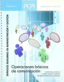 OPERACIONES BASICAS DE COMUNICACIÓN