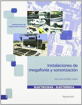 INSTALACIONES DE MEGAFONIA Y SONORIZACION GRADO MEDIO