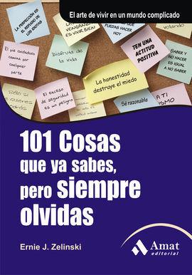 101 COSAS QUE YA SABES, PERO SIEMPRE OLVIDAS