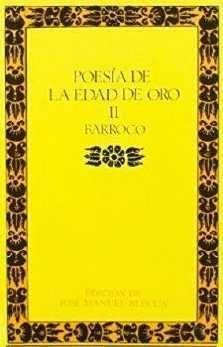 POESIA EDAD DE ORO II BARROCO