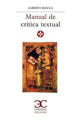 MANUAL DE CRITICA TEXTUAL