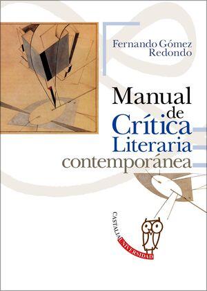 MANUAL DE CRITICA LITERARIA CONTEMPORANE