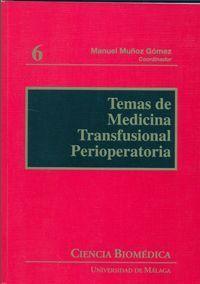 TEMAS DE MEDICINA TRANSFUSIONAL PERIOPERATORIA
