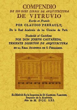 COMPENDIO DE LOS DIEZ LIBROS DE ARQUITECTURA DE VI