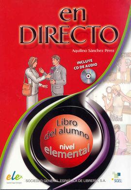 EN DIRECTO. LIBRO DEL ALUMNO NIVEL ELEMENTAL + CD