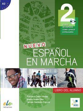 NUEVO ESPAÑOL EN MARCHA 2  LIBRO DEL ALUMNO + CD