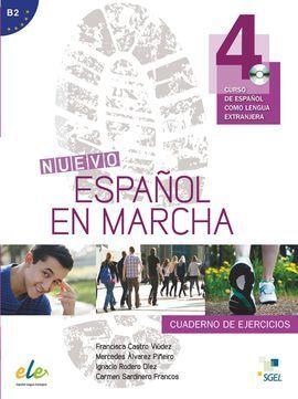 NUEVO ESPAÑOL EN MARCHA 4 EJERCICIOS + CD