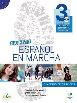 NUEVO ESPAÑOL EN MARCHA 3 EJERCICIOS + CD