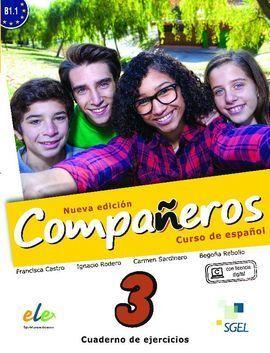 COMPAÑEROS 3 CUADERNO DE EJERCICIOS. NUEVA EDICIÓN