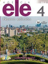 AGENCIA ELE 4 NUEVA EDICIÓN LIBRO DE CLASE