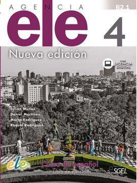 AGENCIA ELE 4. NUEVA EDICIÓN. LIBRO DE EJERCICIOS