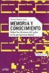 MEMORIA Y CONOCIMINETO