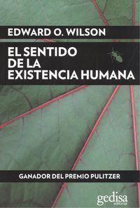SENTIDO DE LA EXISTENCIA HUMANA,EL