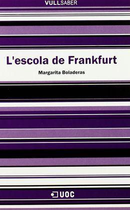 L'ESCOLA DE FRANKFURT