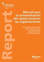 MANUAL PARA LA AUTOEVALUACIÓN DEL CAPITAL SOCIAL EN LAS ORGANIZAC
