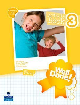 WELL DONE!, 3 EDUCACION PRIMARIA. ACTIVITY BOOK