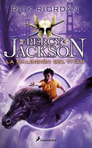 PERCY JACKSON 3. MALDICION DEL TITAN (NUEVA EDICION)