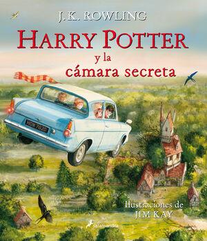HARRY POTTER II LA CAMARA SECRETA ILUSTRADO