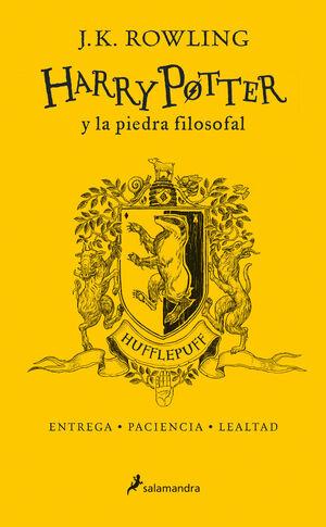 HARRY POTTER Y LA PIEDRA FILOSOFAL. HUFFLEPUFF